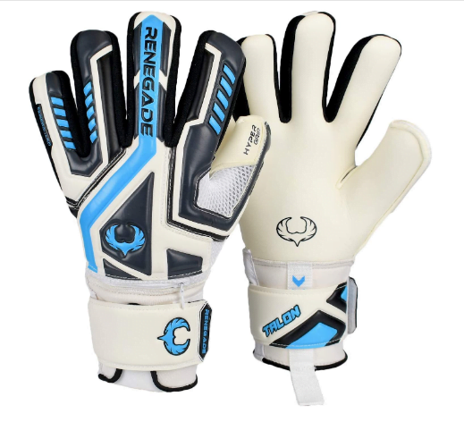 Renegade GK Talon Goalie Gloves with Microbe-Guard and Hyper Grip
