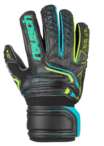 Reusch Attrakt SD Open Cuff Finger Support Junior Goalkeeper Glove