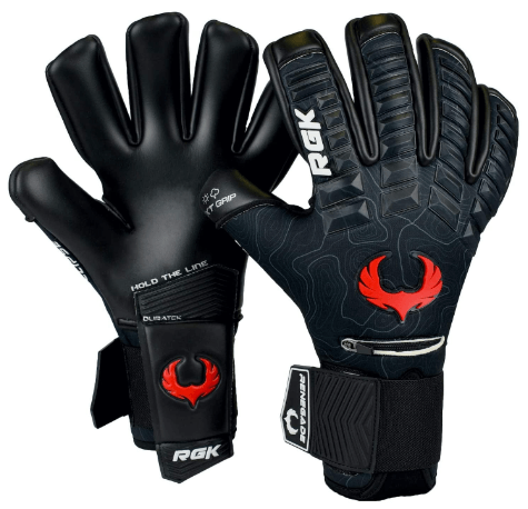 Renegade GK Eclipse Professional Soccer Goalie Gloves with Microbe-Guard (Sizes 7-12, Level 5) Pro-Tek Fingersaves & Contact Grip Goalkeeper Gloves