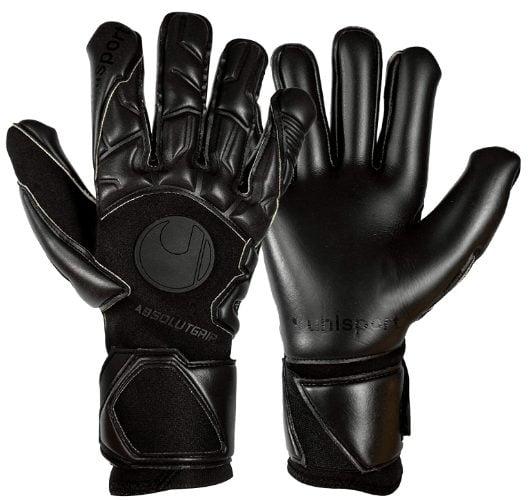 uhlsport Absolutgrip Hn Pro #294 Blackout Goalkeeper Gloves Size