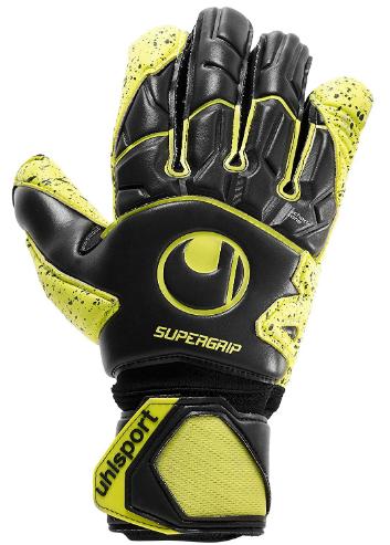 uhlsport Supergrip Flex Frame Carbon Goalkeeper Gloves Size 9.5