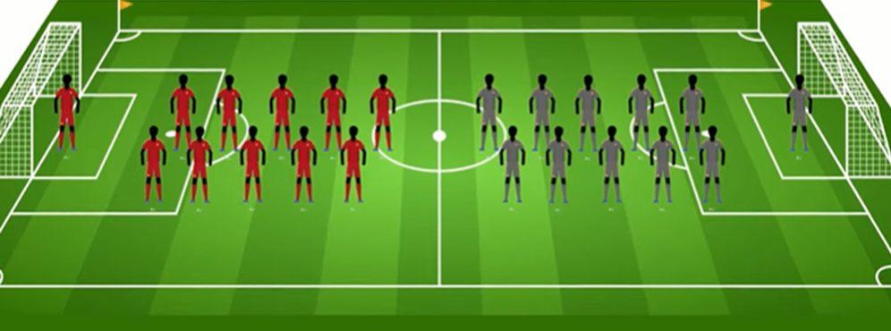 11 vs 11 soccer position