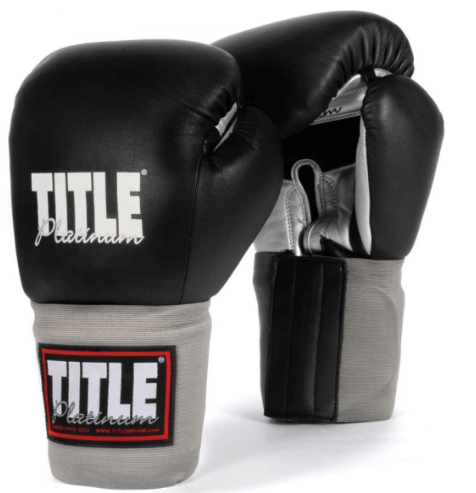 TITLE PLATINUM PARAMOUNT SPARRING AND TRAINING GLOVES