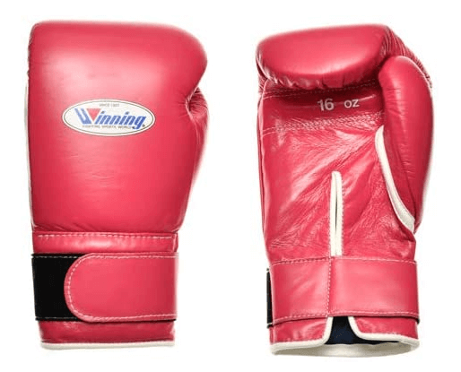 Winning Training Boxing Gloves 16oz MS600B PINK