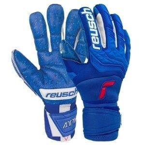 Reusch-Attrakt-Freegel-Fusion-Ortho-Tec-Goaliator-Goalkeeper-Gloves-Size-9.